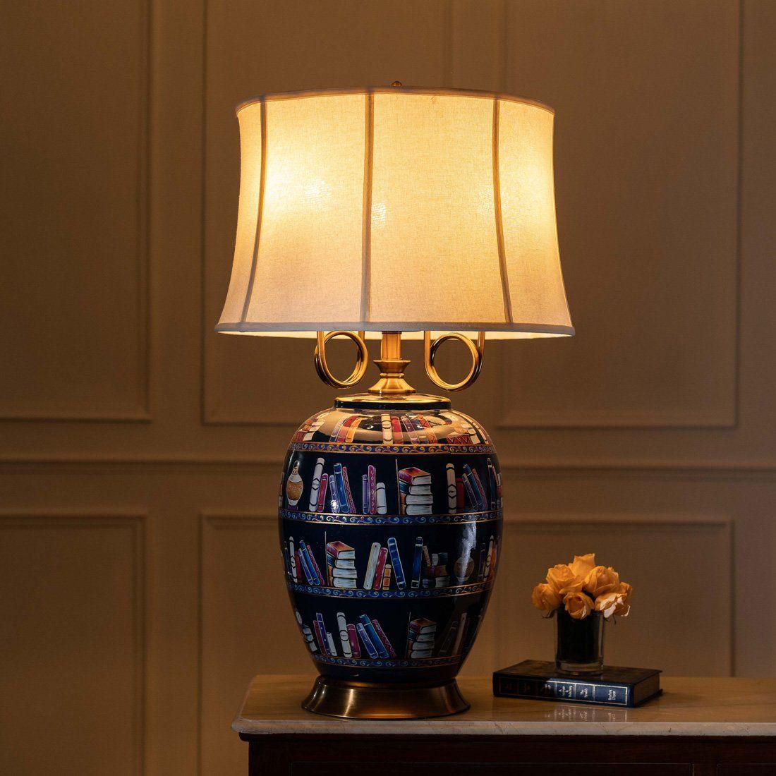 The Scholar Ceramic Table Lamp Table Lamp Lamp Ceramic Table Lamps