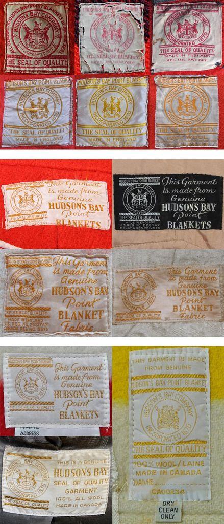 Image Result For Vintage Hudson Bay Blanket Labels Blankets In