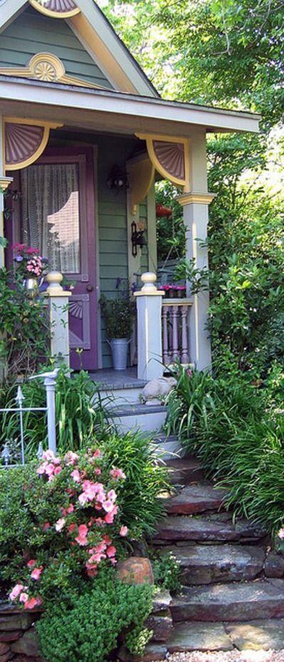 lovely lilac cottage romantische gartenh user pinterest sch ne h user terrasse und balkon. Black Bedroom Furniture Sets. Home Design Ideas