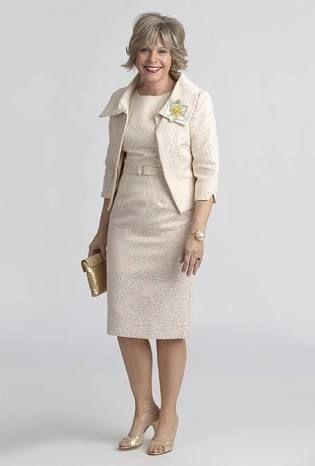 b42511b5a4 Resultado de imagen para vestidos de fiesta para señoras mayores de 60 años