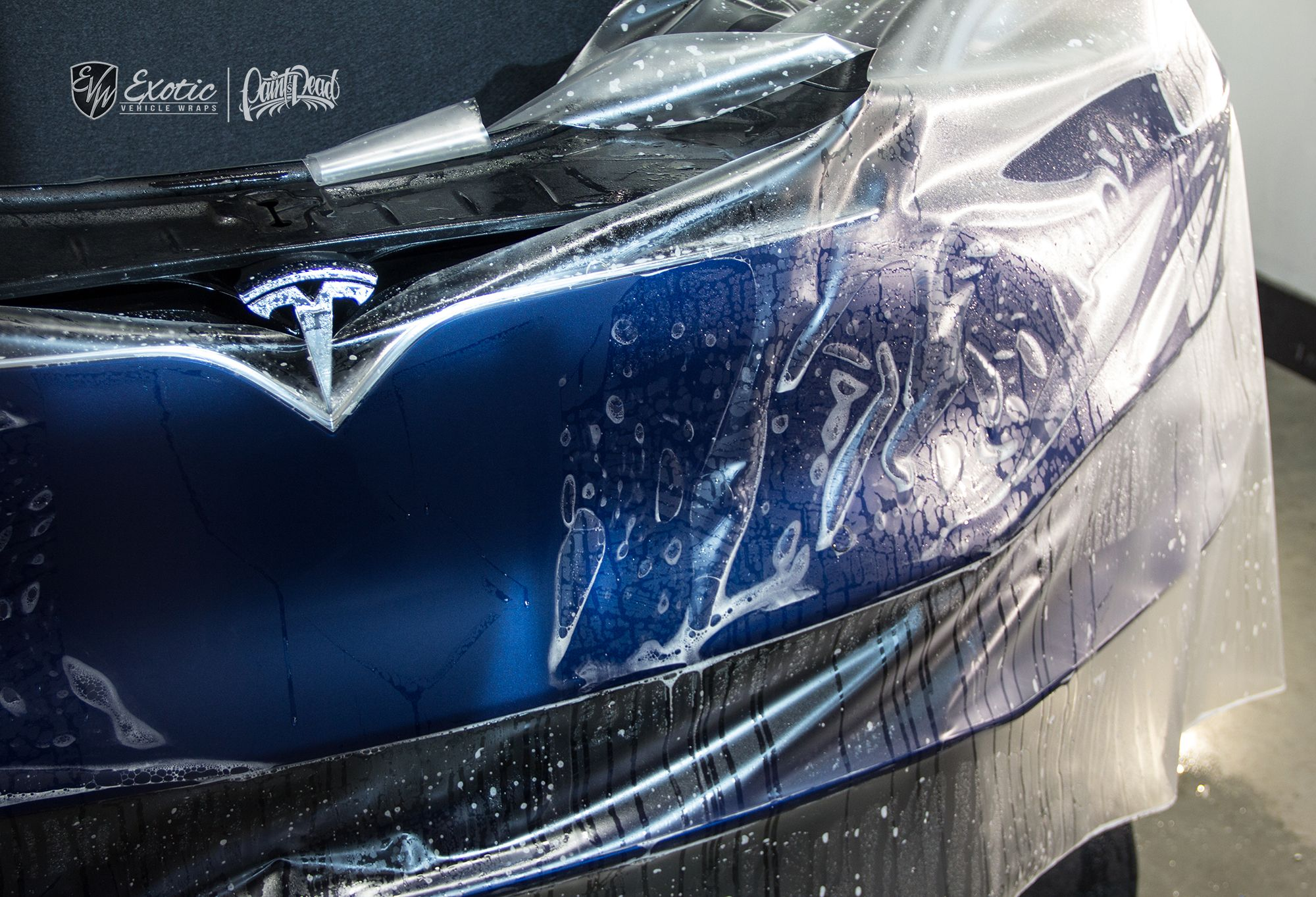 Model S Deep Blue Metallic With Xpel Stealth Ceramic Pro Tesla Models Car Automotive Cars Autos Stealth Deep Blue Tesla Model X