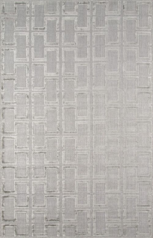 Momeni FRESCFRE-3GRY2030 INDIAN HAND LOOMED Fresco Collection Grey Finish Rugs