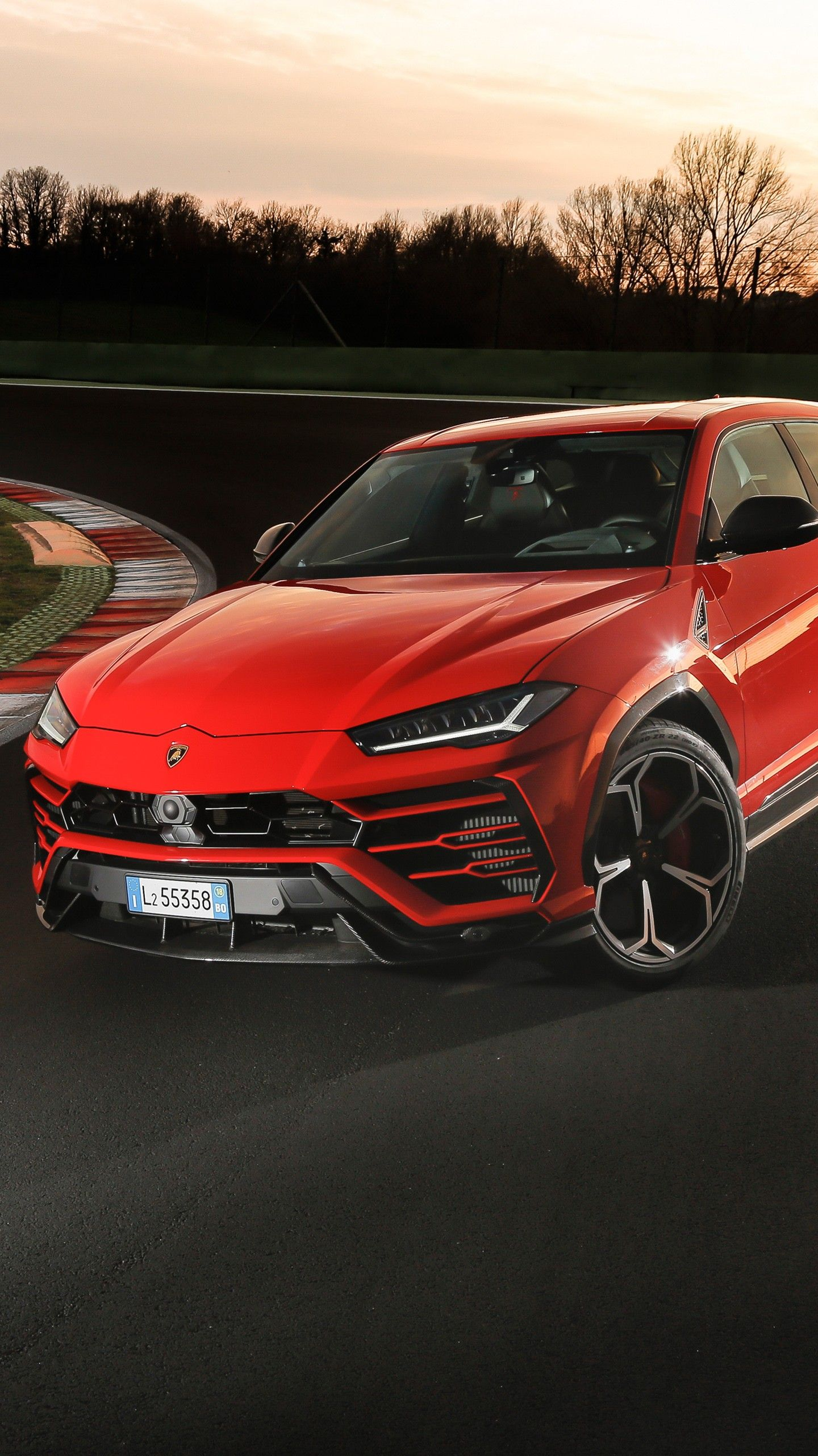 Cars Lamborghini Urus Shiny Black Package 2018 4k Wallpapers