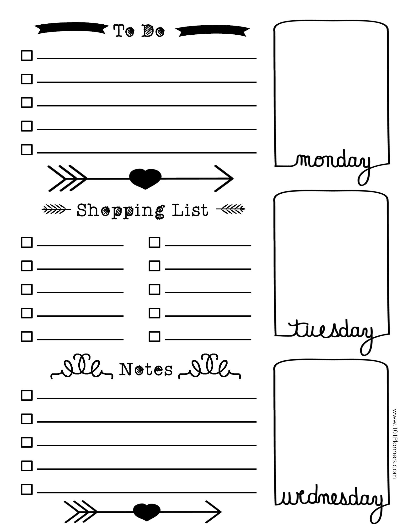 Image Result For Bullet Journal Templates