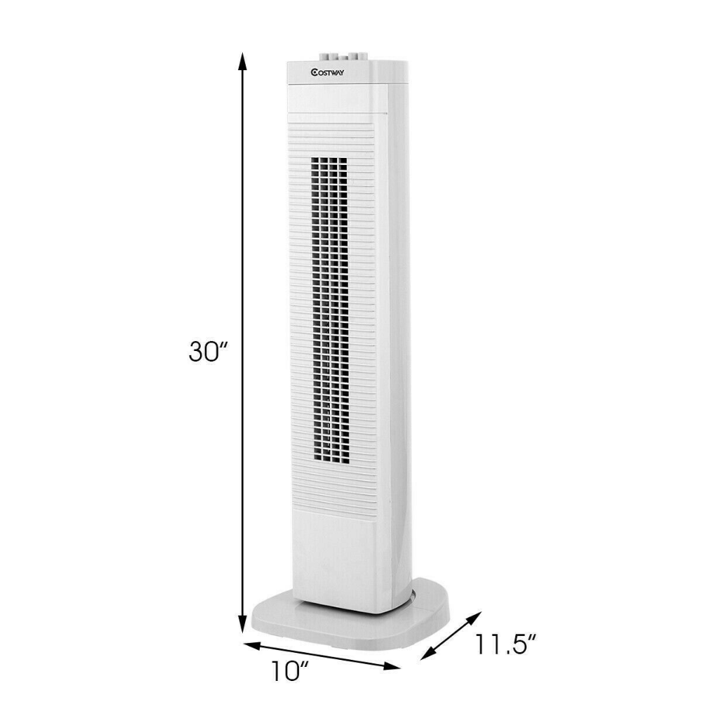 30 3 Speed Portable Tower Fan 6952938358330 Ebay Tower Fan Portable Air Conditioner Lasko