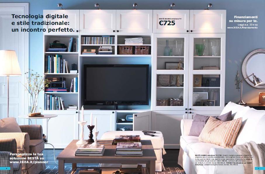 il soggiorno ikea per il 2012: besta. | idee per la casa | casa ... - Soggiorno Tv Ikea 2