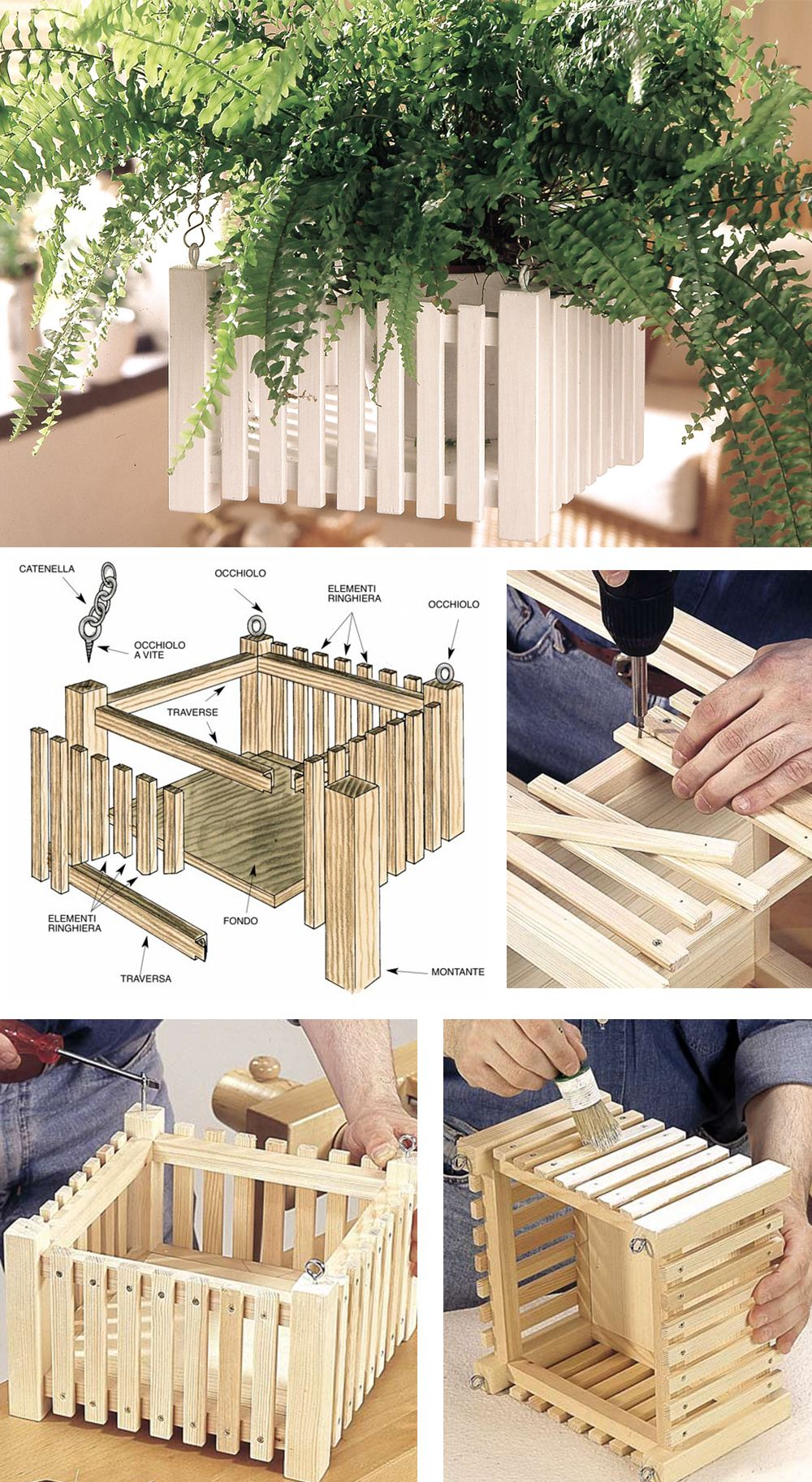 Rinfrescare Casa Fai Da Te portavaso fai da te | arredamento da giardino fai da te