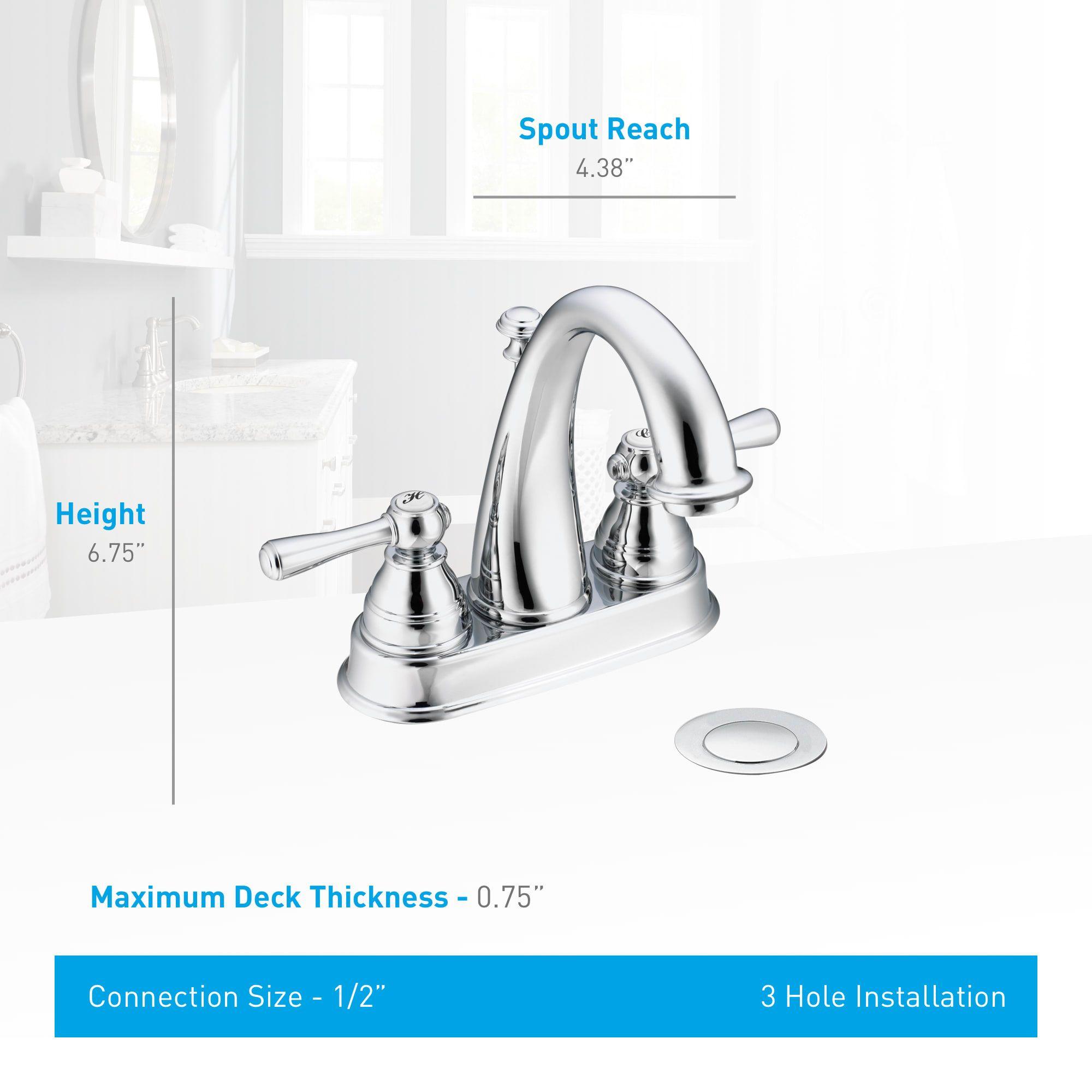 Moen 6121 Bathroom Faucets Faucet Sink Faucets
