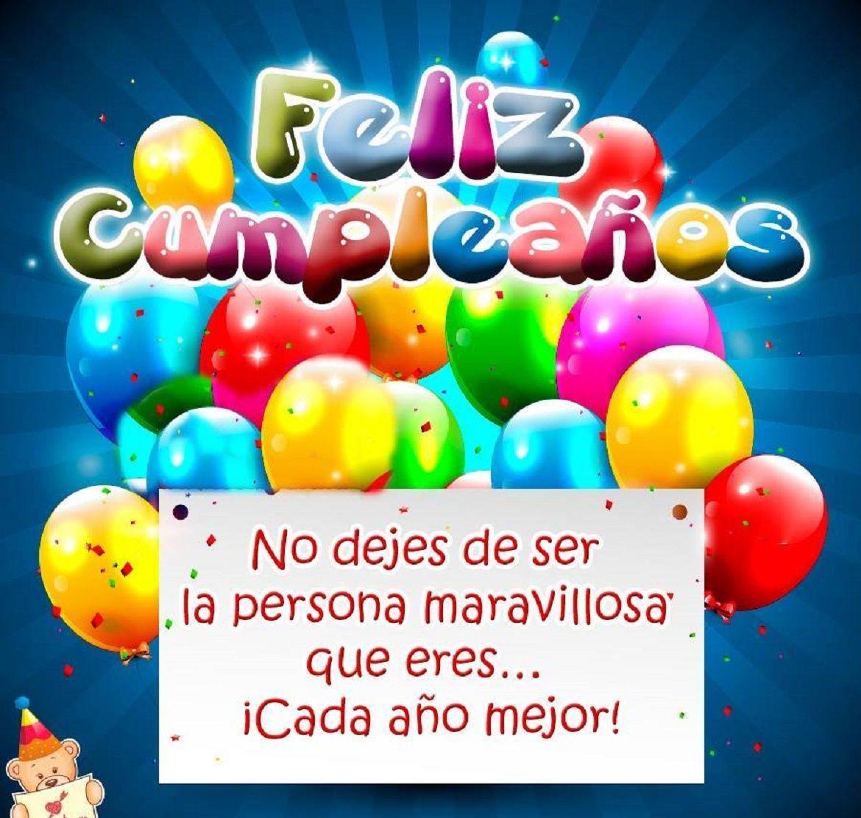 Tarjeta De Cumpleaños Gratis, Deseos De Feliz Cumpleañ