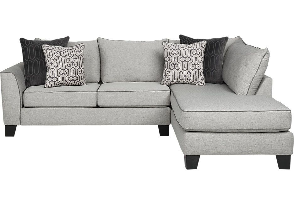 Ashford Landing Gray 2 Pc Sectional Livingroom Living