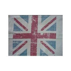 Cortina estilo vintage diseño bandera británica de 137x250cm