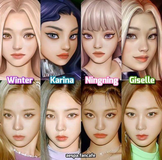 Pin De Yasmin Em Aespa Meninas Coreanas K Idols Meninas