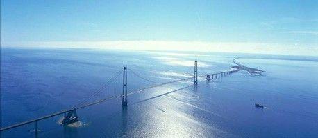 Storebaelt Bridge East West Denmark Barcelona New York Montreal