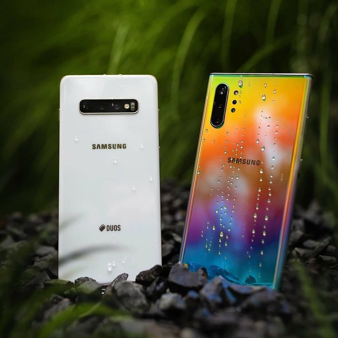 Mobile World On Instagram Galaxy Note10 Aura Glow Or S10 In Ceramic White Follow Us Mobile World 007 Enter To Samsung Army Samsung Galaxy Iphone