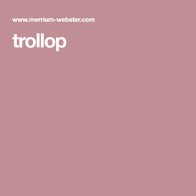 Trollup definition