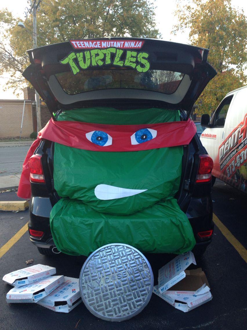 Tmnt 2020 Halloween Trick Or Treat Trunk or Treat   Teenage Mutant Ninja Turtles #TMNT #Halloween