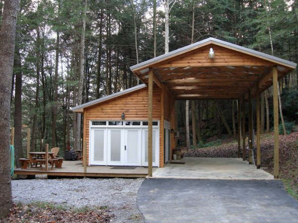 Storage Buildings Shelter : Image result for living in an rv on your own land