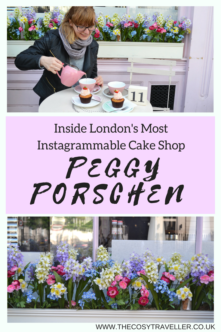 Could this be the cutest cake shop in London?! It's impossible NOT to fall in love with the gorgeous cakes and pretty Instagrammable exterior!