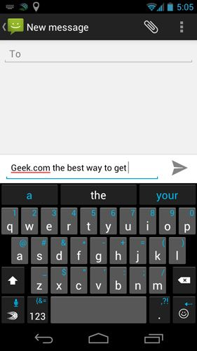 best free keyboard app for android 2012