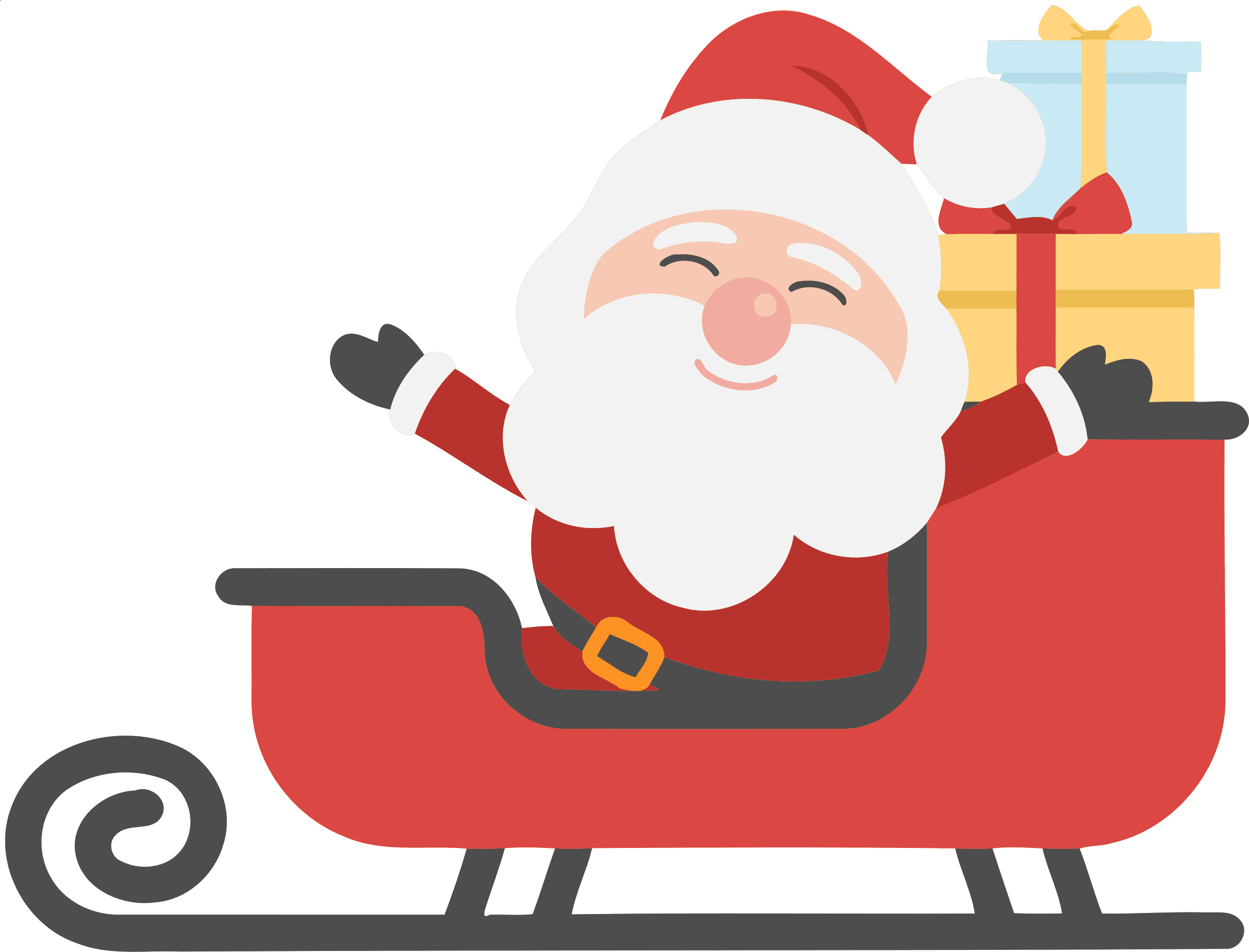 Free Santa Claus Clip Art for Christmas Santa crafts