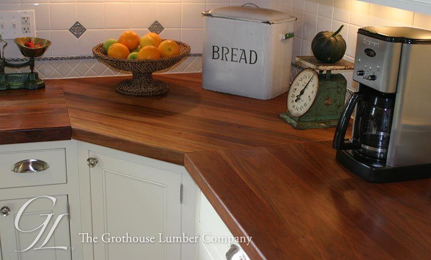 Custom American Cherry Wood Countertop Wood Countertops Wood