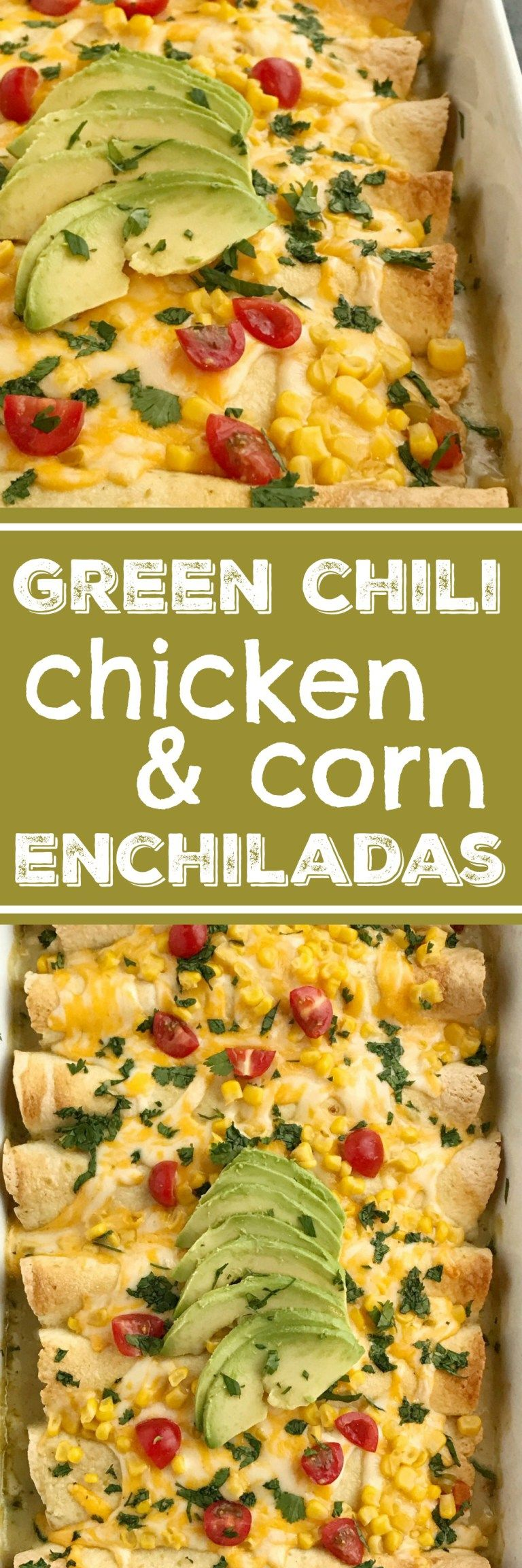 Green chili corn enchiladas enchilada recipes chicken recipes green chili corn enchiladas enchilada recipes chicken recipes mexican food easy dinner forumfinder Choice Image