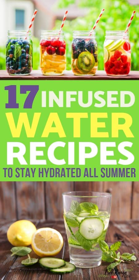 17 Infused Water Recipes to Keep Hydrated and Healthy