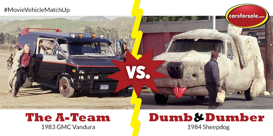 Which Is Your Favorite Famous Van The Dumb And Dumber Sheepdog Or From A Team