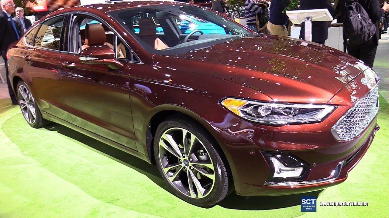 2019 Ford Fusion Titanium Exterior and Interior