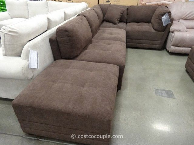 Marks And Cohen Taylor 7 Piece Modular Sectional Costco Our New Sectional Modular Sectional Sofa Sectional Modular Sectional