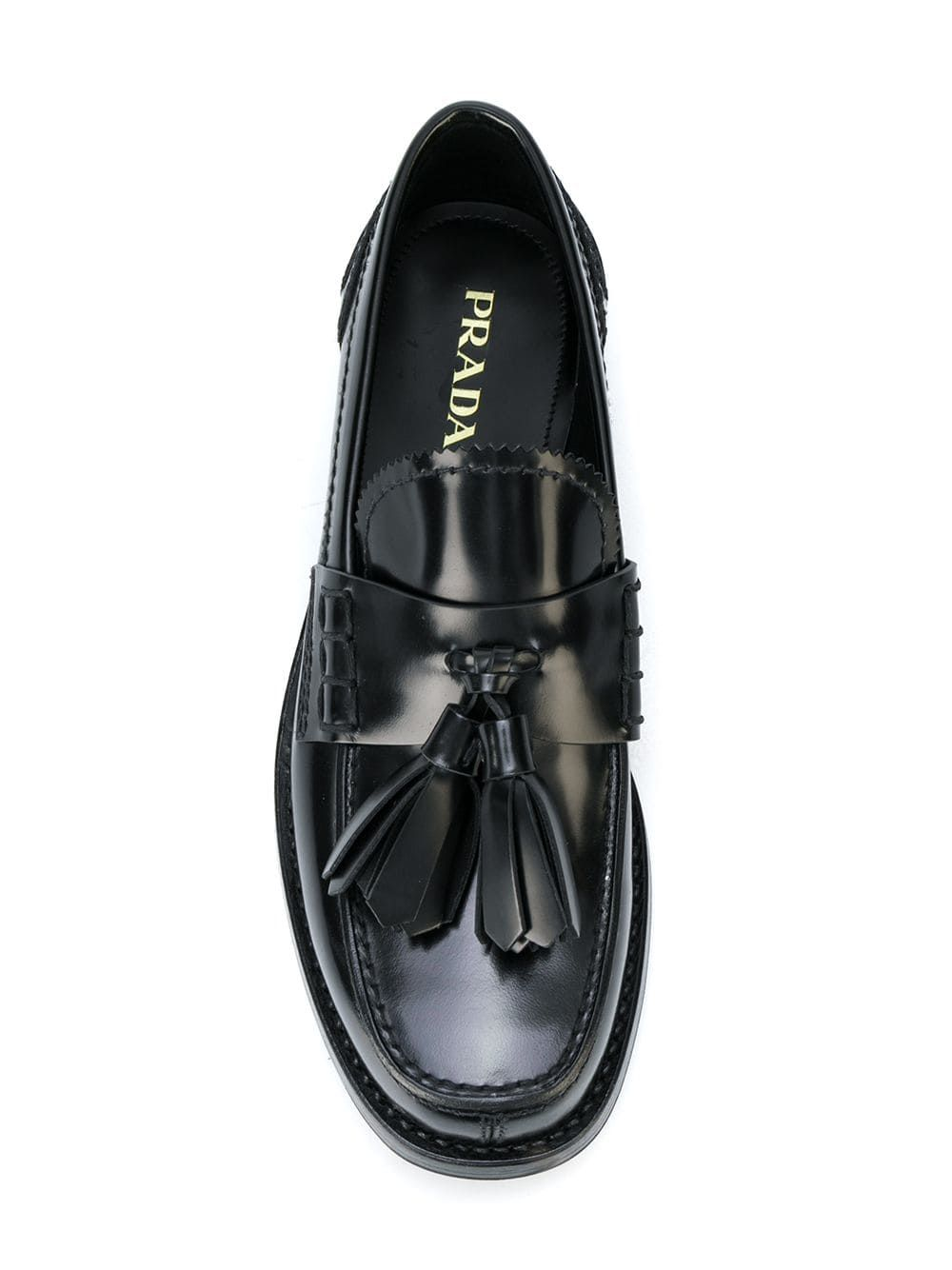 38e27c1a Prada tassel front loafers | BUY in 2019 | Loafers, Prada, Hermes ring