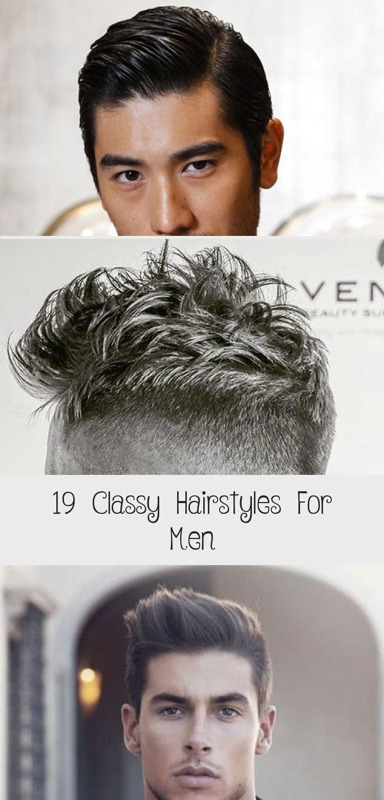 19 Classy Hairstyles For Men | Classy hairstyles, Long