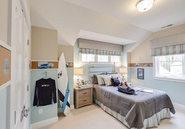 Boys Bedroom Coastal Inspired Beach