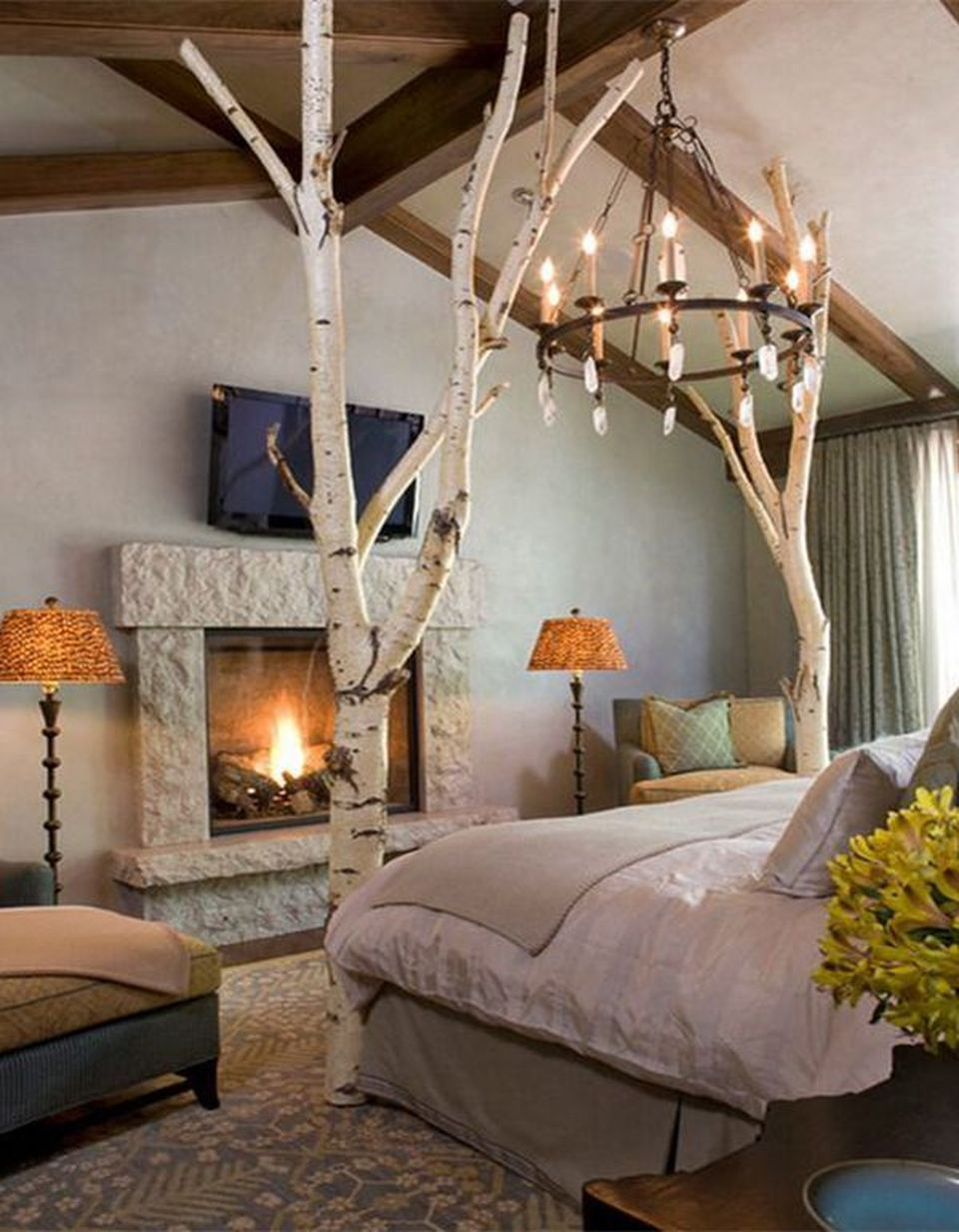 99 Lovely Romantic Bedroom Decorations Ideas For Couples Amazing