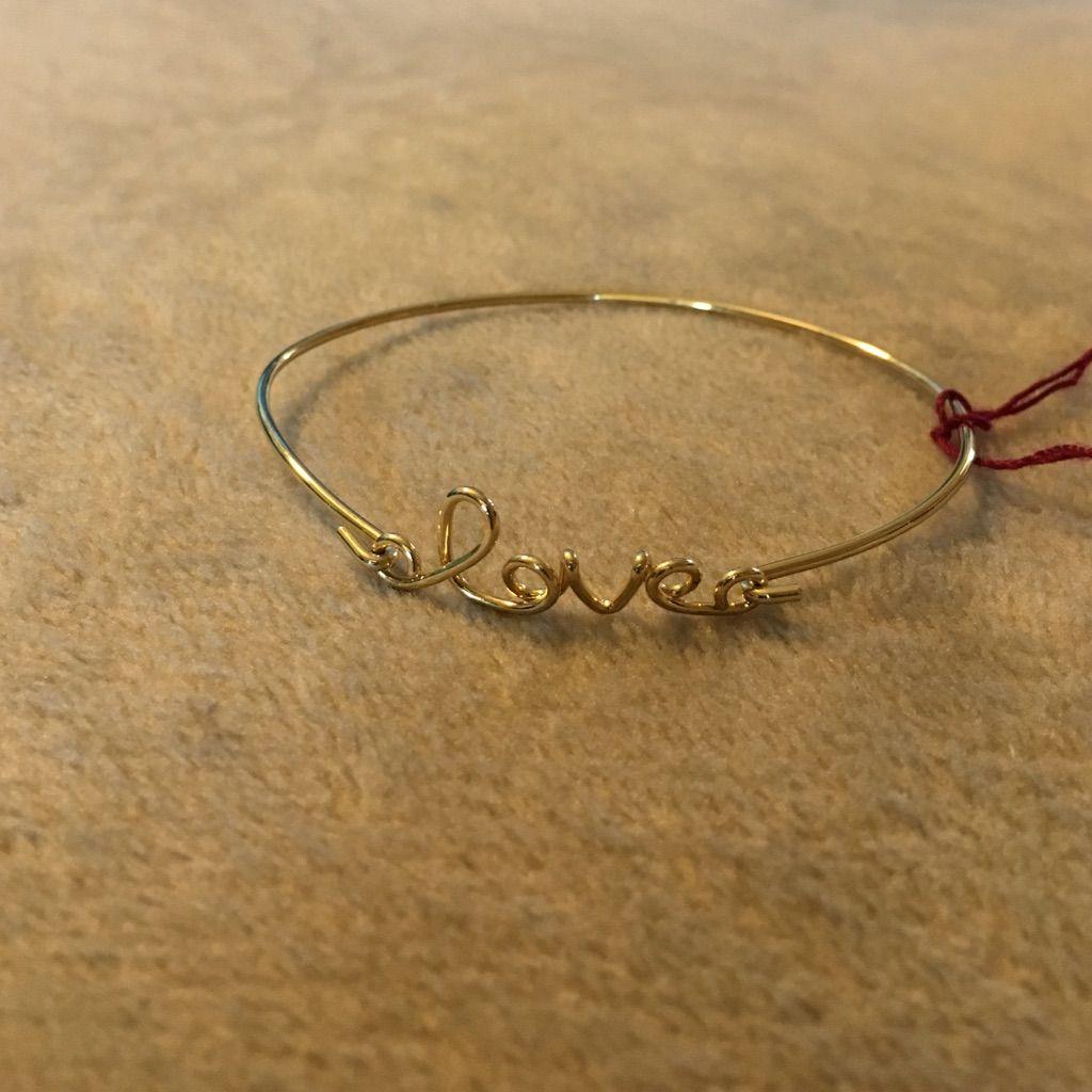Love Gold Bracelet