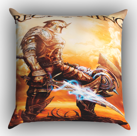 Kingdoms Of Amalur Reckoning Video Game Z1092 Zippered Pillows Covers 16x16, 18x18, 20x20 Inches