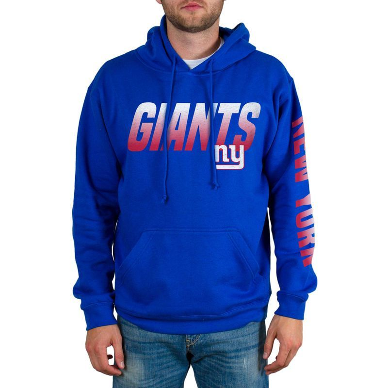 New York Giants Team Logo Pullover Hoodie - Royal  20960e8ad