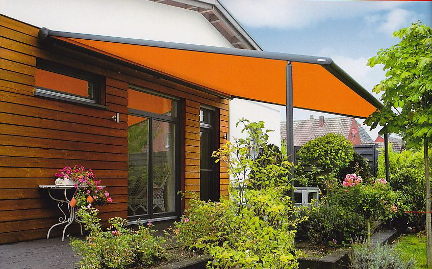 Epic Markilux Pergola awning system on support posts with lateral guide tracks Looking for an elegant