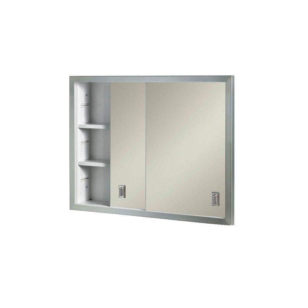 Contempora 24 5 8 In W X 19 3 16 In H X 4 In D Framed Stainless