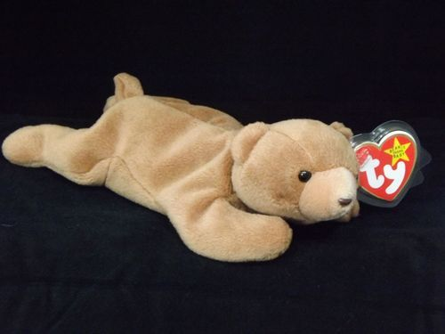 NEW 1993 Cubbie the Brown Grizzly Bear Ty Beanie Baby Babies Retired 4th  Gen Tag 21e7926684bb