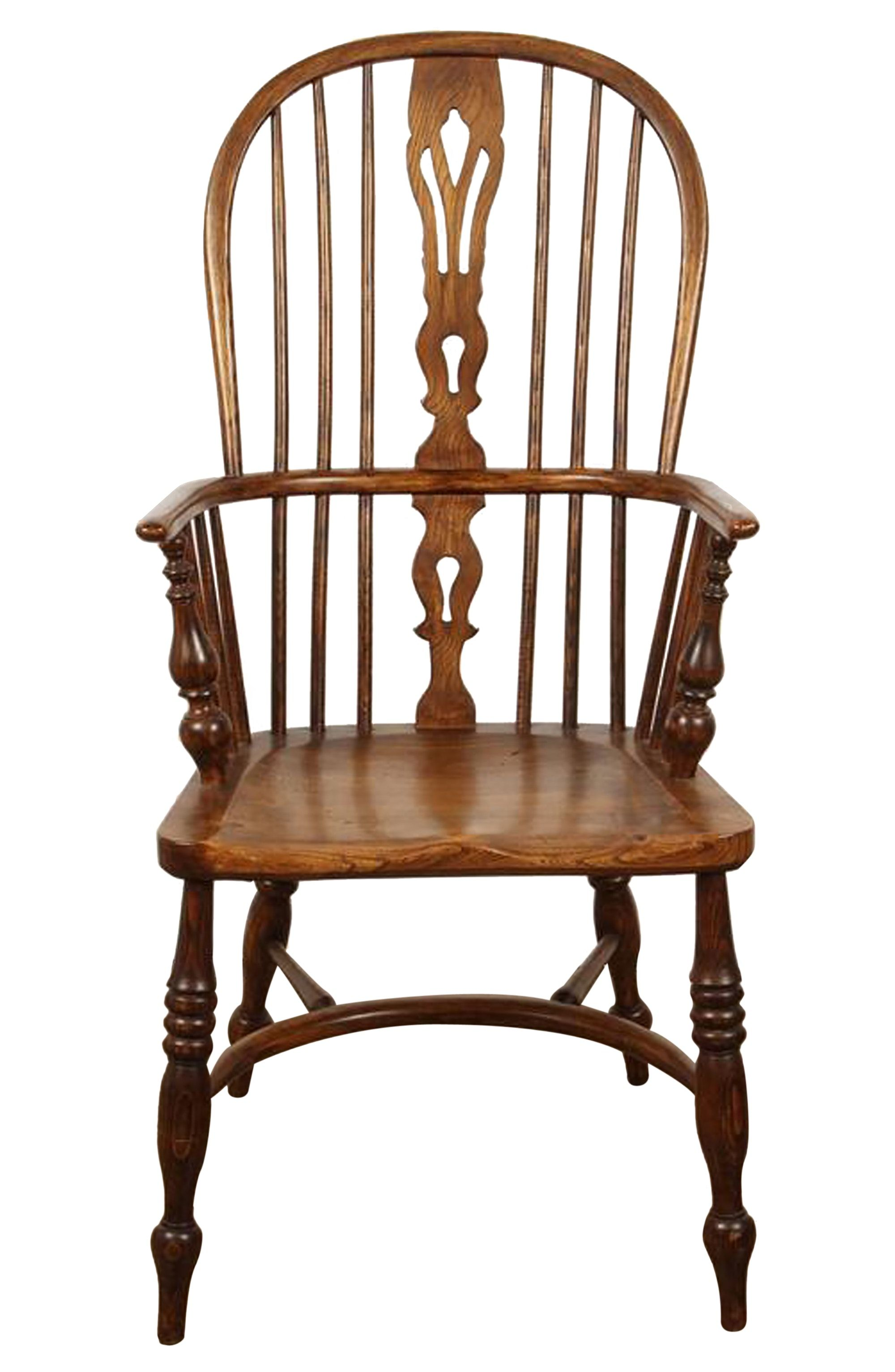 English yew high back chair by susanne hollis inc