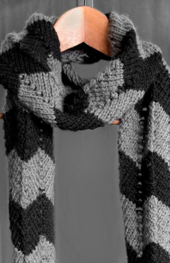 Handmade items like knit scarves make wonderful and unique