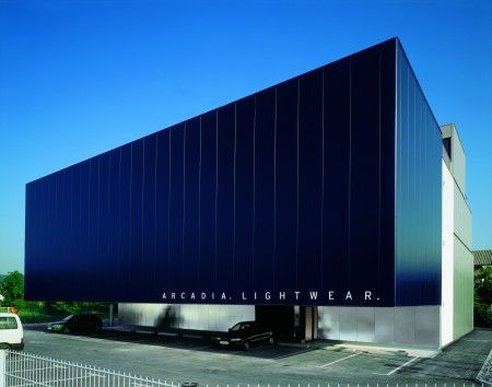 Exterior facade external facade pinterest facades for Modern industrial building design