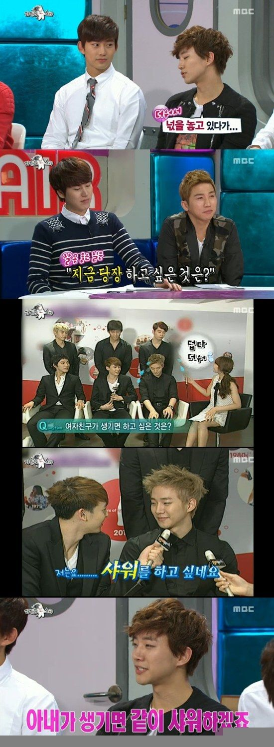 Junho explains his comment about wanting to shower with