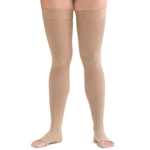 1223472c8def21 Scholl Softgrip Class 3 Compression Stockings Thigh Length Open Toe Nat  Medium | Health & Beauty, Mobility, Disability & Medical, Orthopaedics &  Supports ...