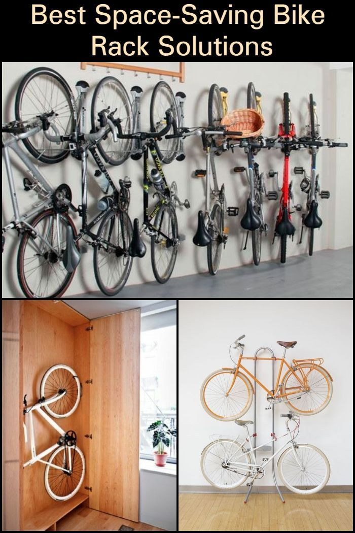 Best Space Saving Bike Rack Solutions Bike Storage Diy Bike Storage Solutions Bike Storage Garage