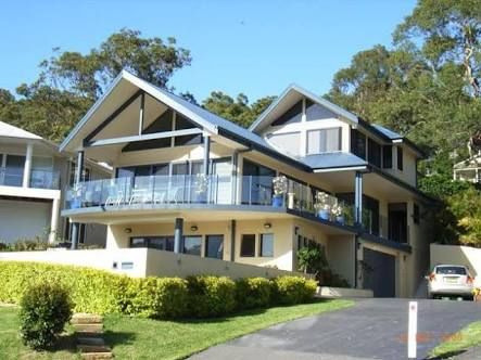 Double Storey Gabled Roof House Australia Modern Google Search