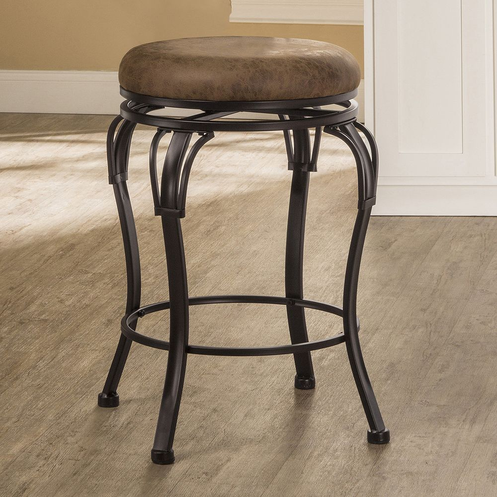 Backless Portland Swivel Counter Stool Swivel Counter