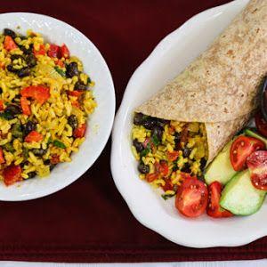 Yellow rice and black bean burritos recipe yummly recipes to yellow rice and black bean burritos recipe yummly forumfinder Choice Image