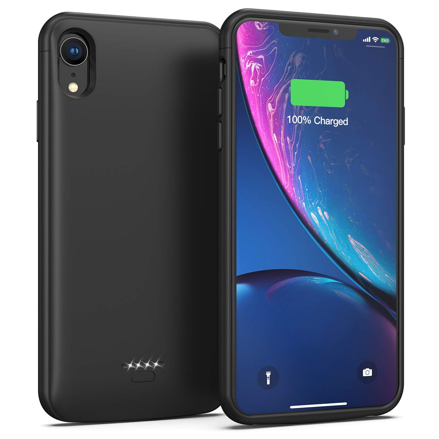 Battery case for iphone xr 5000mah portable charging case